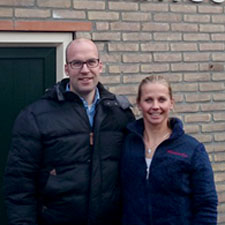 Arjan Otten en Aldy Kok