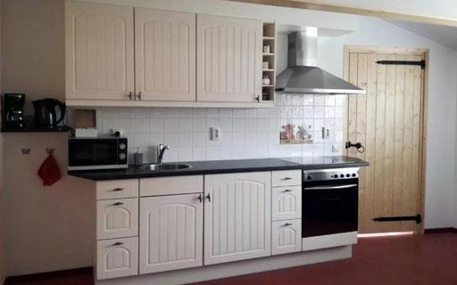 Uw eigen maaltijd bereiden? Het kan in de complete keukens in de appartementen!